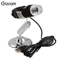Big sale Gizcam 2MP 1000X 8LED USB Digital Microscope Zoom Video Camera Magnifier +Stand