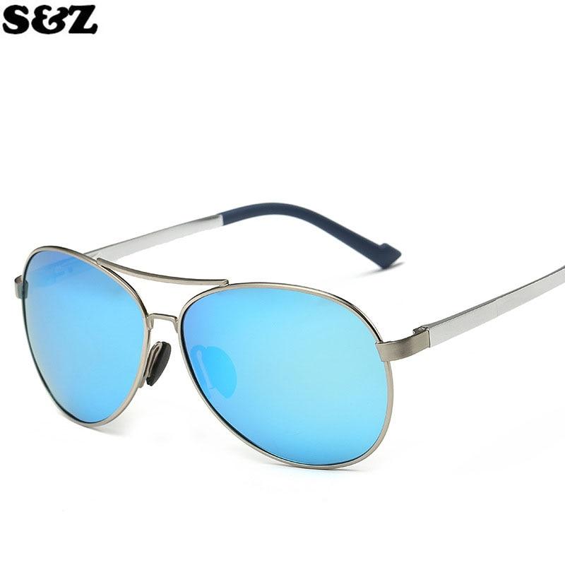 En aluminium-Alliage de magnésium lunettes de Soleil Polarisées UV400 de  Mode Hommes Polarisées Lunettes de Soleil Homme Conduite Bouclier Lunettes  Lunettes 4d84cf3bb5d3