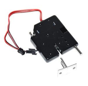 Image 4 - 5 pcs dc 12 v 2a 솔레노이드 전기 제어 캐비닛 서랍 로커 잠금 신호 피드백 및 자동 개방 pudsh push 디자인