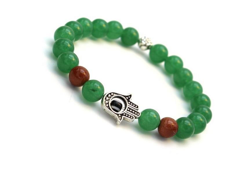 8 mm chrysoprase Shi Zhu bracelets Fatima hamza bunch of wholesale