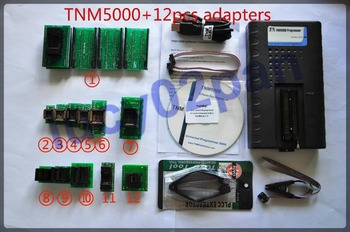 TNM5000 USB Universal IC Programmer+12pcs socket adapter kit,nand flash programmer,Support Wins XP/VISTA/7/8,multiple language