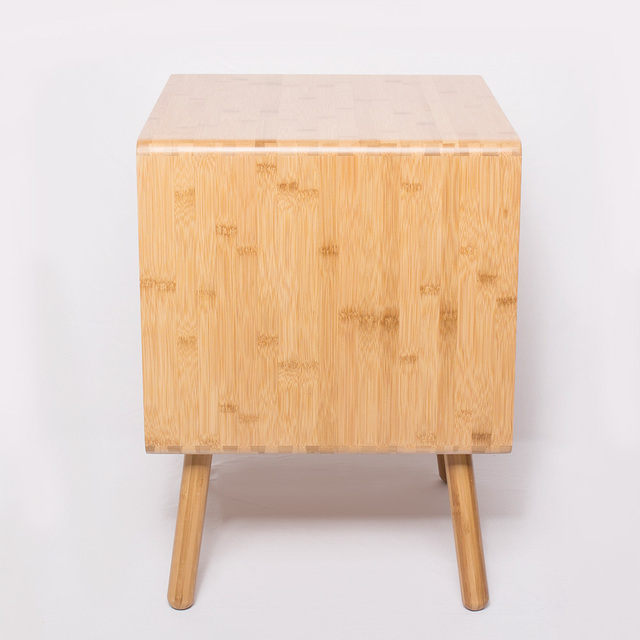 Natural Bamboo Bedside Table