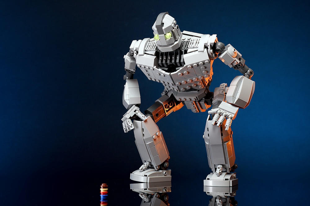 the MOC 14898 set THE Iron Giant building block bricks toy for children birthday gift the