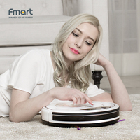Fmart Robot Vacuum Cleaner Home Cleaning Appliances 3 In 1 Cleaners Suction Sweeper E 550W S