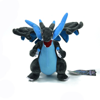 日本アニメone million ×メガリザードンメガ23センチソフトぬいぐるみぬいぐるみ人形のおもちゃアクションフィギュア友人へのプレゼント子供