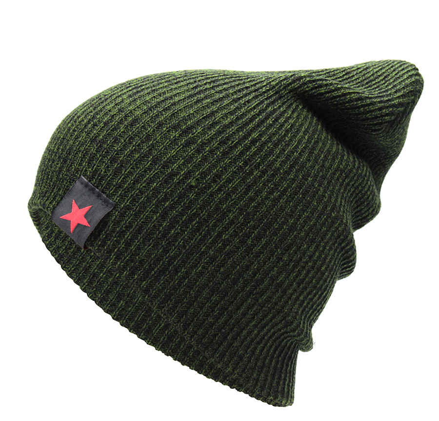 9ca5b481584 Hip Hop Male Cap Women s Solid Skullies Beanies With Label Fashion...