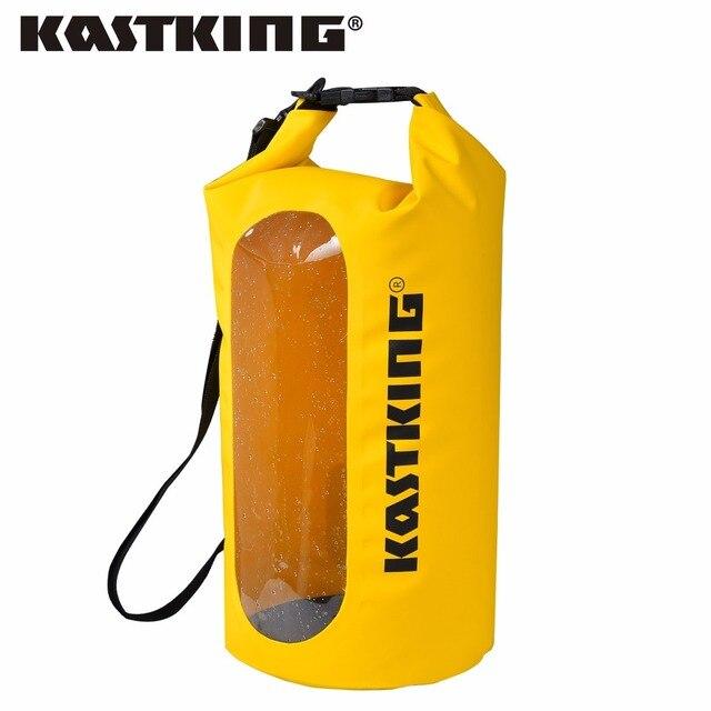 KastKing прочный 500D ПВХ 100% водостойкий сухой мешок многоцелевой открытый портативный плавание рыбалка 10L 20L 30L