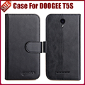 Hot Sale! DOOGEE T5S Case New Arrival 6 Colors High Quality Flip PU Leather Protective Phone Case For DOOGEE T5S Cover