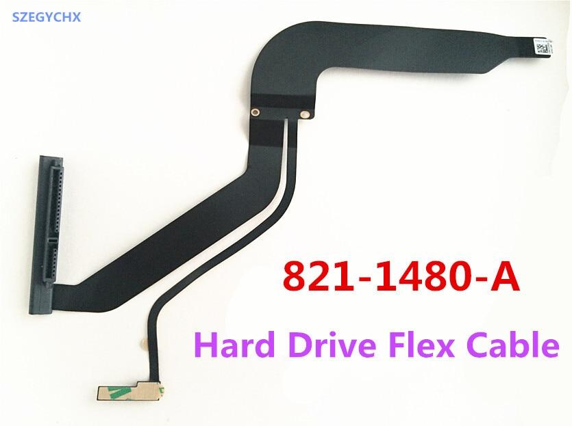 Original 821-1480-A HDD Flex Cable For Macbook Pro 13.3 A1278 IR Sensor & Bracket Mid 2012 Year , SZEGYCHX original hdd cable for 13 macbook pro a1278 101 102 md313 md314 mc723 hdd cable 821 1480 a 2pcs lot