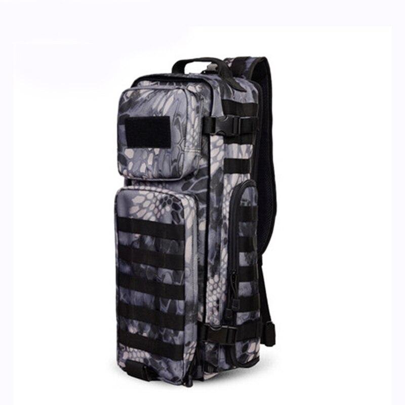 Sac à dos à bandoulière pour hommes sacs à dos pour hommes un seul épaule homme grand voyage sacs à dos militaires sacs à dos Molle à l'extérieur sac à dos - 2