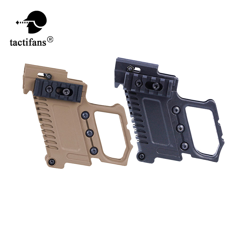 TACTIFANS ABS Pistol Carbine Kit Magazine Combat Kit For WE/Marui G17 G18 G19 GBB Series Compatible TM & WE G17/18/19/26 & Clone