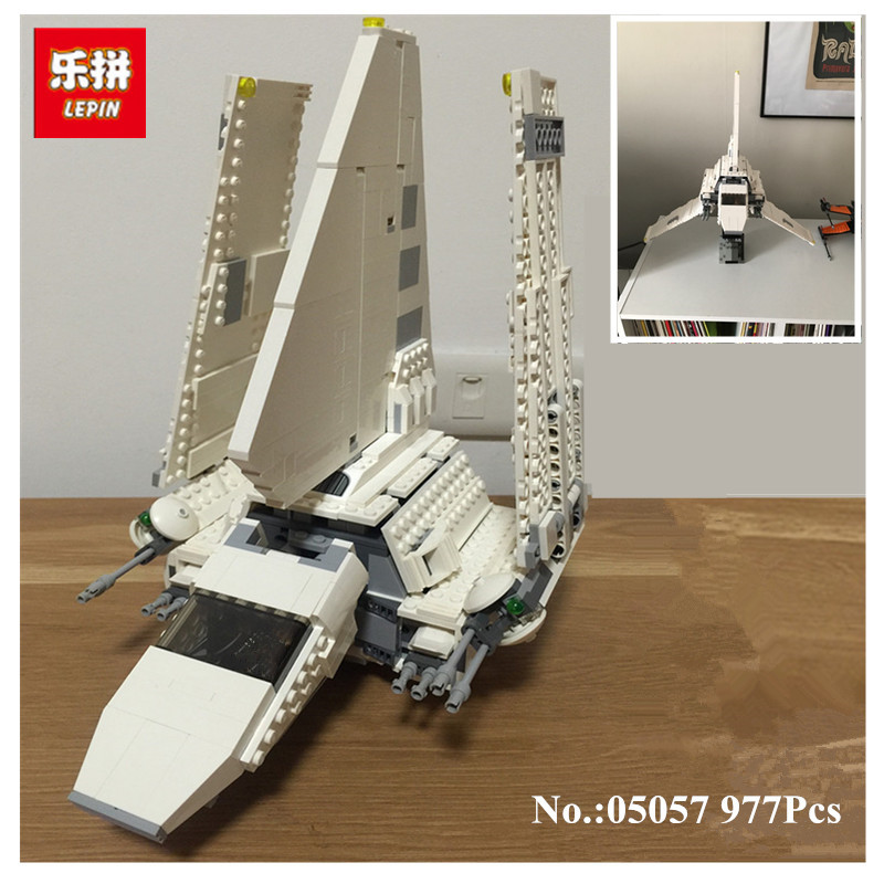 IN-STOCK LEPIN 05057 977PCS Imperial Shuttle Tydirium Building Blocks Bricks Assembled Toys Compatible75094 Gift