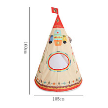 Kids Indoor Outdoor Toy Tent Garden House Portable Playhouse for Boys and Girls Indian Style Toy Tent Toy Tents  5.16