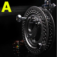 free shipping high quality 27 cm new design metal kite reel with disk brake kitesurf paragliding flying kite wheel outdoor fun