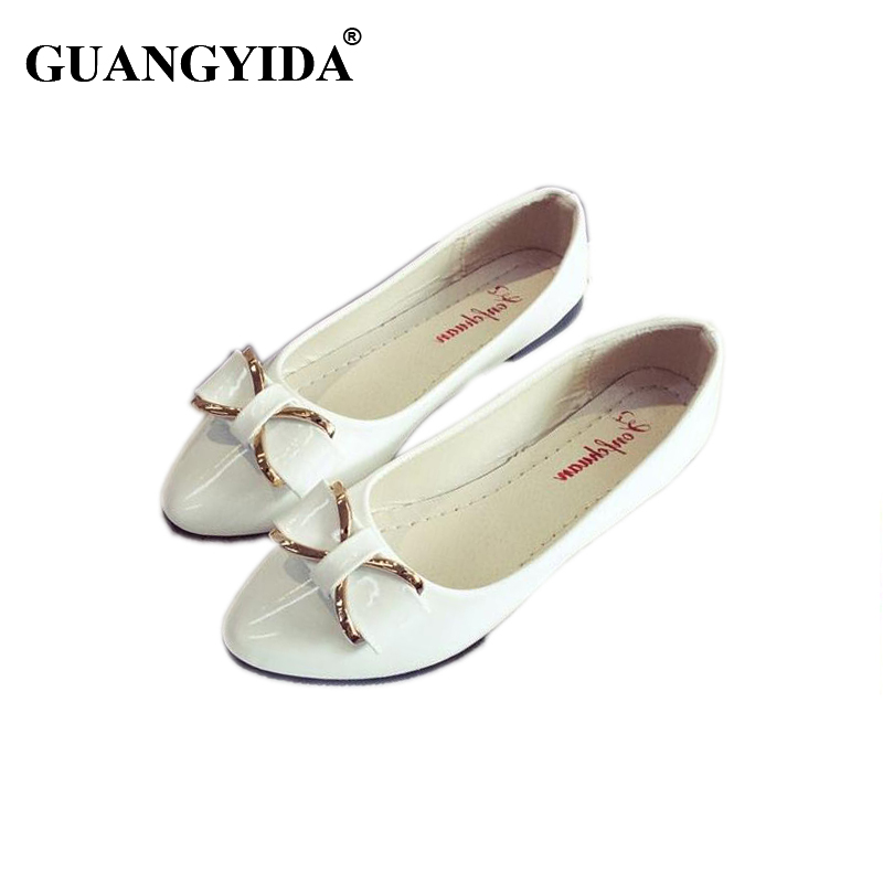 2017 New Fashion Sweet Pointed Toe Shoes for Women Flats Summer Solid Flat Shoes Woman Candy Color Ballet Shoes ZY155 gold sliver shoes woman for 2016 new spring glitter bling pointed toe flats women shoes for summer size plus 35 40 xwd1841