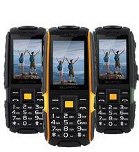 Оригинальный X6000 gsm старший старик телефон IP67 Водонепроницаемый прочный мобильный телефон 2 sim fm Мощность Банк Русский Клавиатура LED фонарик