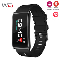 WQ N68 Smart Bracelet Color Display Blood Pressure Smart Band Blood Oxygen Fitness Tracker Smartband Activity Tracker Wristband