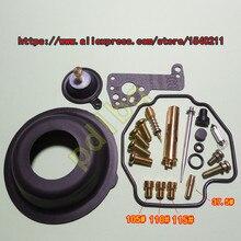 (1 комплект из $26) YM Virago XV400 (2NT) 3JB мотоцикл Mikuni Карбюратор ремонт комплект с больших и малых диафрагмы