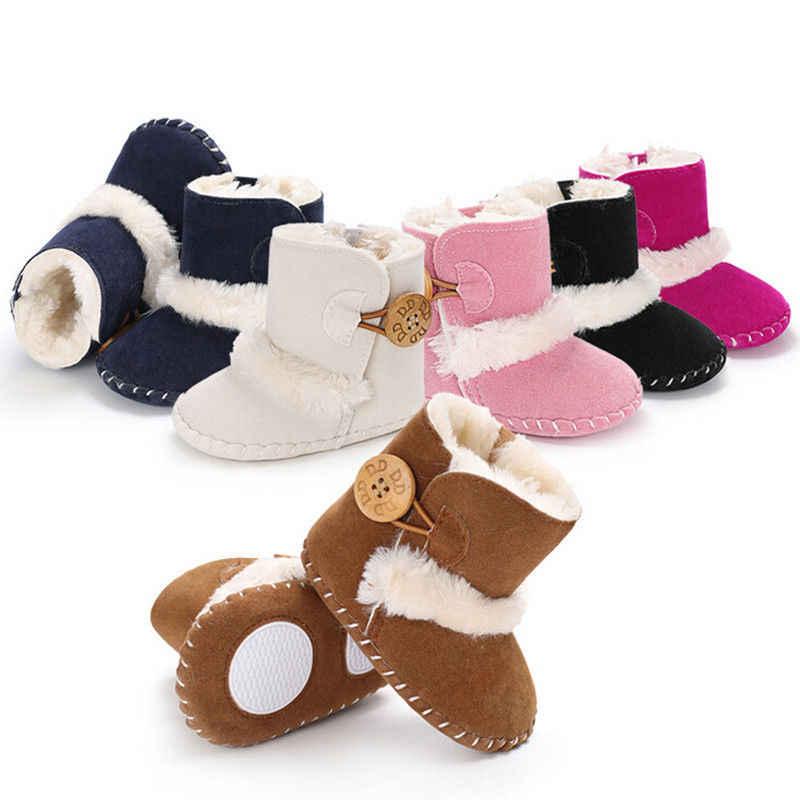 Russia Winter Warm Baby Boots Newborn