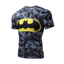 High Quality Polyester 3D Printed T-shirts Men Compression Shirt New Short Sleeve Fitness Shirt Clothing For Male Crossfit Tops(China)