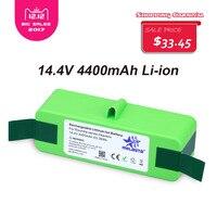 Melasta 4 8Ah 14 4V LI ION Battery With Sanyo Cells For IRobot Roomba 500 600