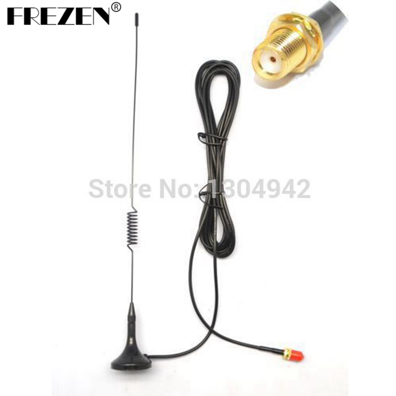 UT-102UV SMA-Female for radio Magnetic Vehicle-mounted Mini car Antenna for baofeng uv-5r Kenwood <font><b>TK</b></font> <font><b>3107</b></font> 2107 WALKIE TALKIE image