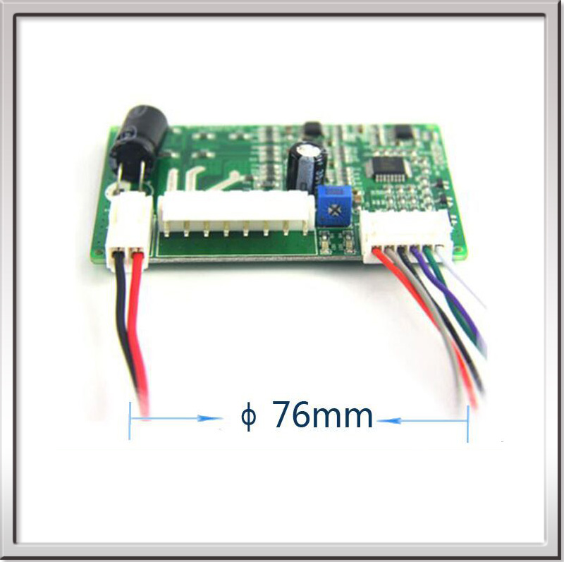 Ce Rohs Micro Brushless Dc Fan Motor Driver Board 12v Or