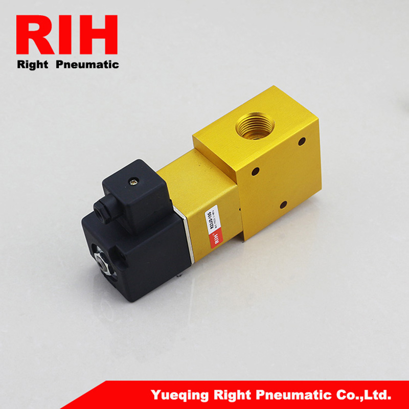 RIH Pneumatics High Pressure Solenoid Valve R23JD-15G with the pressure of 0-4Mpa high pressure processing for the preservation of indian white prawn