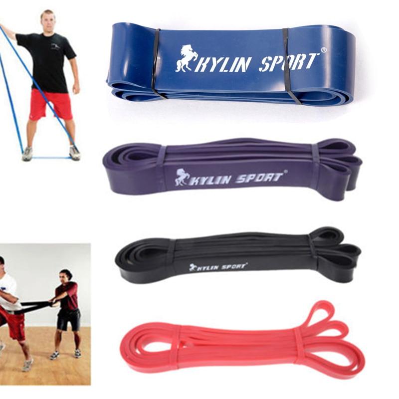 """Fitness Power Lifting Pull Up Muskeln stärken 4er Set Naturlatex 41 """"Strength Resistance Bands Loop"""