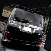 Jy sus304 aço inoxidável taillight triângulo enfeite guarnição estilo do carro capa acessórios para toyota voxy/noah 2014-2016