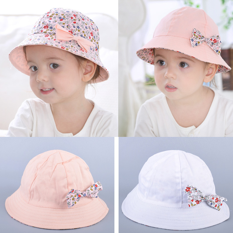 aa377c1a6 Detail Feedback Questions about Summer Baby Girls Sun Hat Flower ...