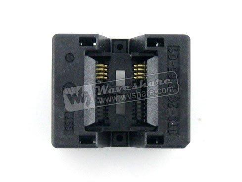SSOP8 TSSOP8 OTS-8(28)-0.65-01 Enplas IC Test Burn-in Socket Programming Adapter 0.65mm Pitch 4.4mm Width import ots 28 0 65 01 burning seat tssop28 test programming