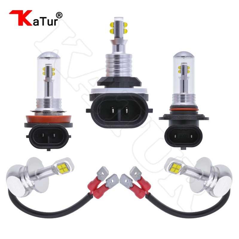 2x H27W2 8 CREELED SMD Fog Light LED Bulb Car LED Driving Driving Lamp 1500LM 6000K White H1 H3 H8/H11 9005/HB3 9006/HB4 881 Led