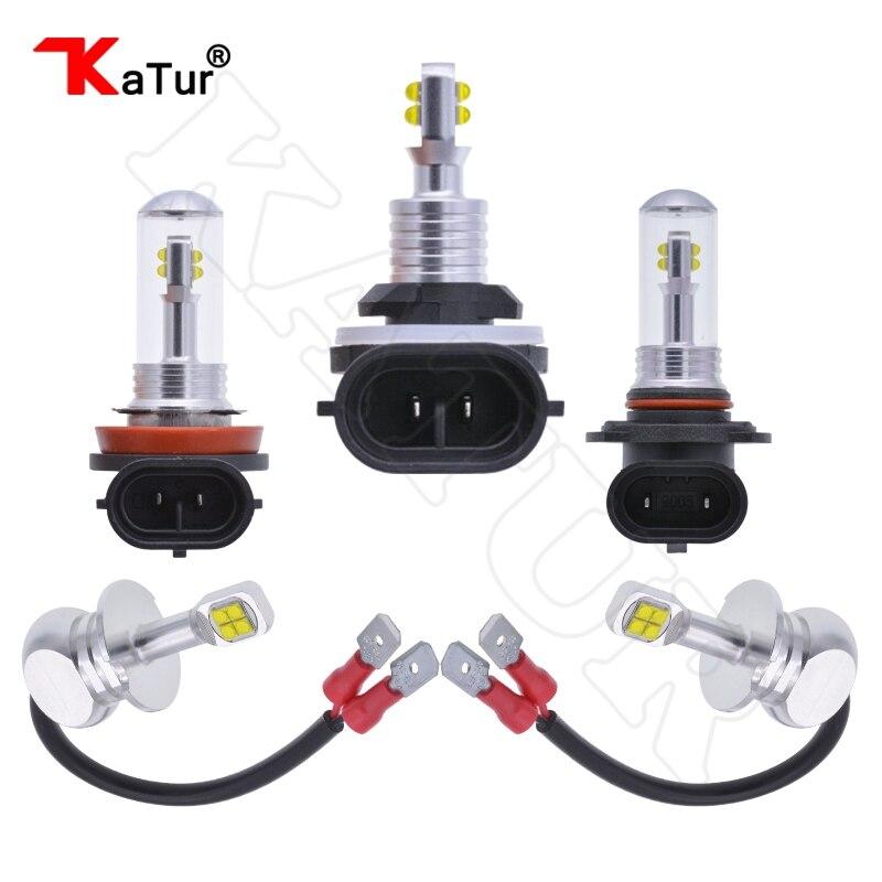 2x H27W2 8 CREELED SMD Fog Light LED Bulb Car LED Driving Driving font b Lamp