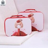 Cosmetic Bag Printing Lovely Girl Pattern High Capacity Portable Wash Bag Cosmetic Bag Mail Box Small