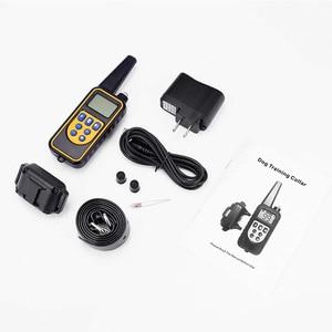 Image 5 - 1000M elektryczne urządzenie do zatrzymywania szczekania dla obroża treningowa dla psa akumulator obroża antyszczekowa pilot pomoce szkoleniowe dla psów