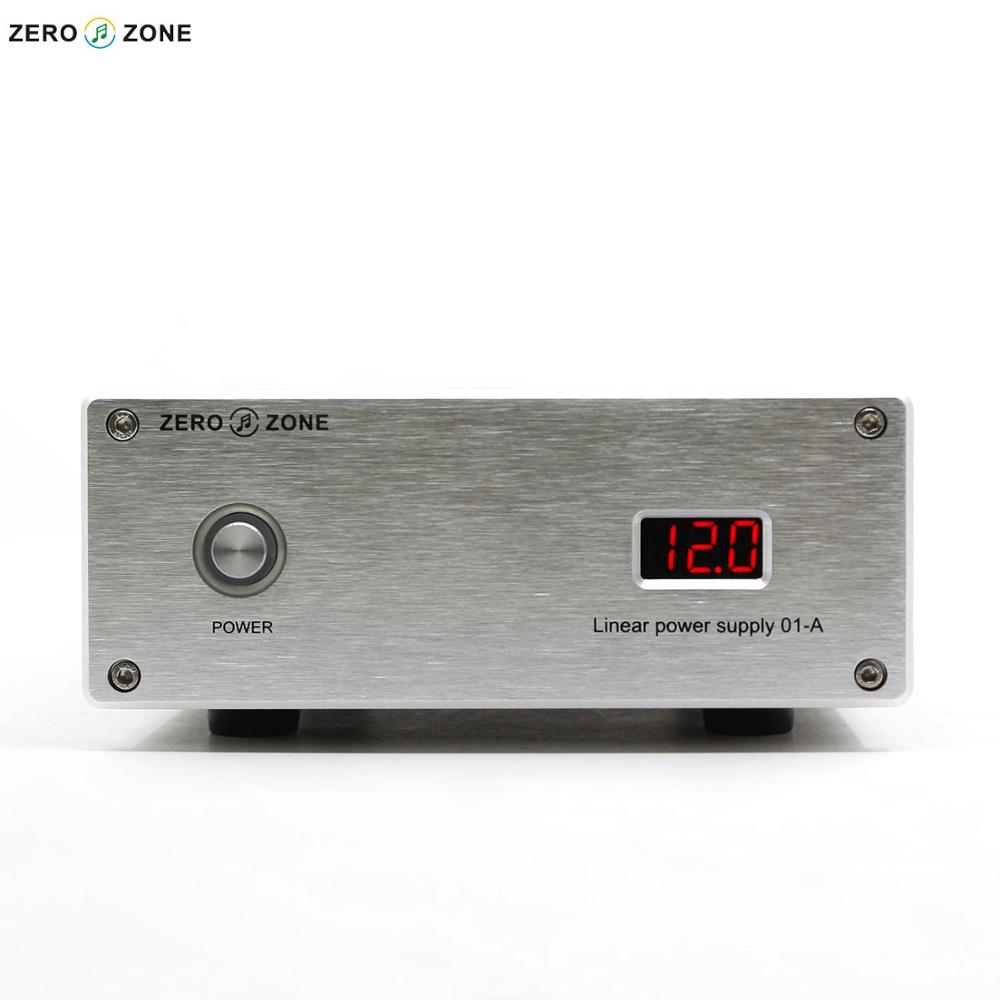 GZLOZONE HIFI 65W Reference-level Linear Power Supply DC 5V/6V/9V/12V/12.6V With Display