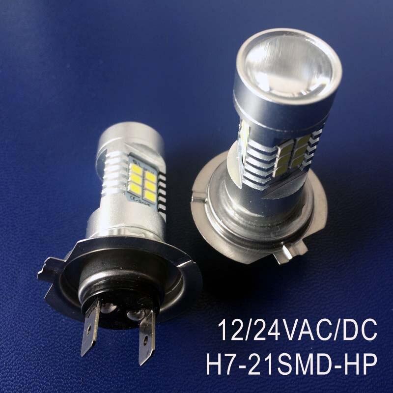 High Quality 12/24VAC/DC 10W H7 Car Led Fog Lamp Auto H7 Led Bulb Lamp Light Free Shipping 2pcs/lot