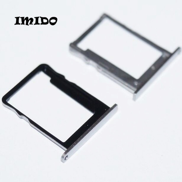 US $3 56 |IMIDO New Sim Micro SD Card Tray Holder For Huawei Ascend P7 Sim  Card Slot Tray reader Adapter -in SIM Card Adapters from Cellphones &