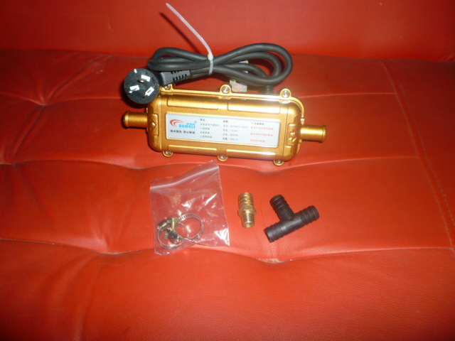 ФОТО Car engine water tank heated kits, car engine pre-heater 3000w dry heater charge machine