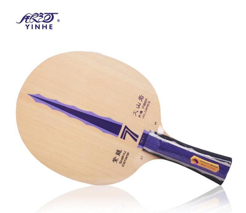 ФОТО Yinhe Shiryu Katana Z7.VF Volcanics Fiber Table Tennis Blade for PingPong Racket