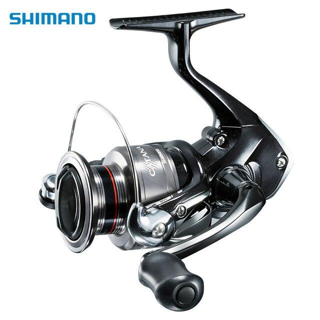 Original Shimano CATANA FD Spinning Reel 1000 2500 C3000 4000 3BB 5.0:1 5.2:1 Gear Ratio 8.5kg Max Drag ARC Spool Fishing Reel