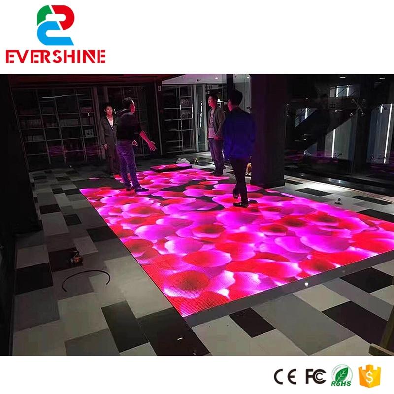 Hot selling product protable p5.2 led video dance floor rental led hd display panel