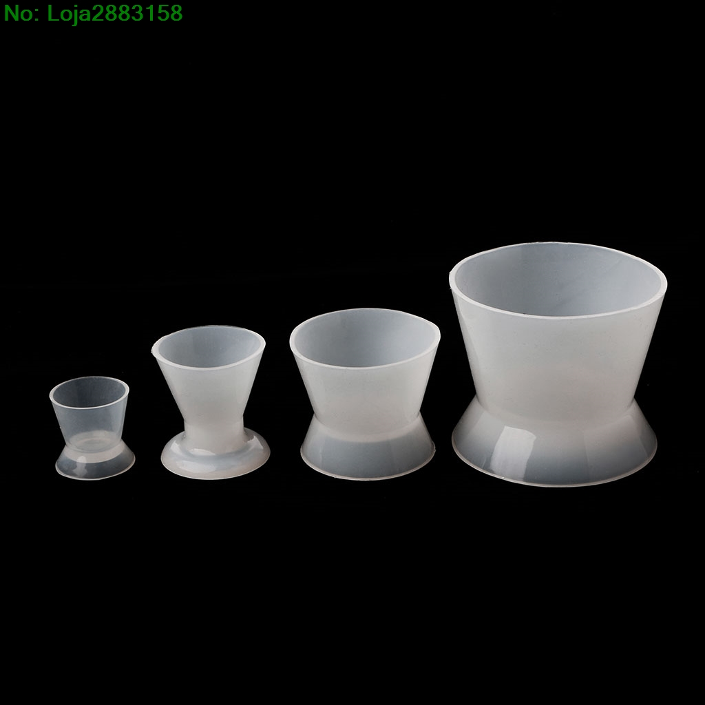 1PC New Dental Lab Silicone Mixing Bowl Cup Silicone Mixed Bowls Cup