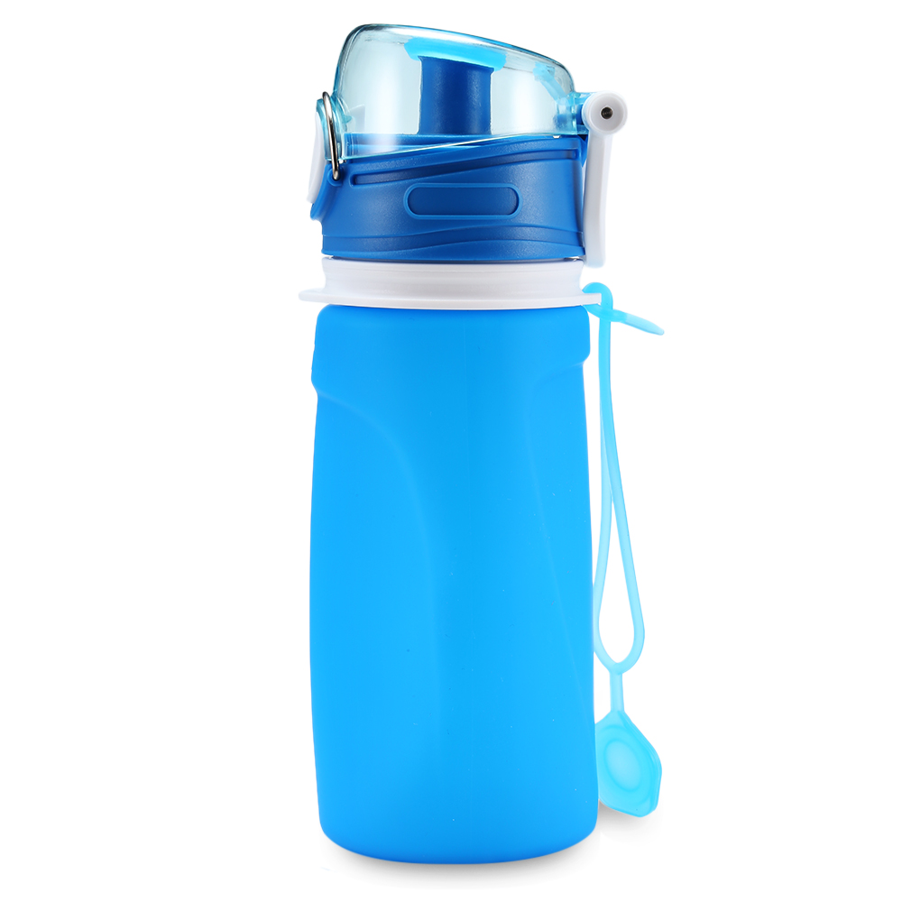 Water Bottle Uses: S5 Mini 550ml Water Bottle Collapsible Silicone Eco