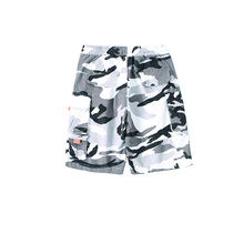 HFNF Cargo Shorts Men Camouflage Summer Cotton Casual Short Pants Brand Clothing hip hop