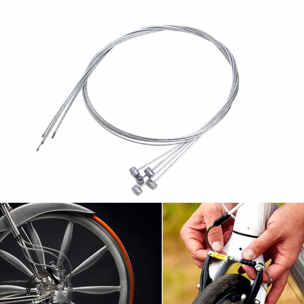 Road Bike MTB Gear Bicycle Brake Line Shifter Core Inner Cable Wire 1.75M//1.9M
