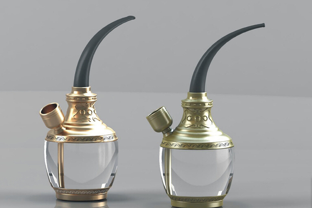 Retro Tabak Keukens : Hoogwaardige retro dubbele filter type rook waterpijp arabië tabak