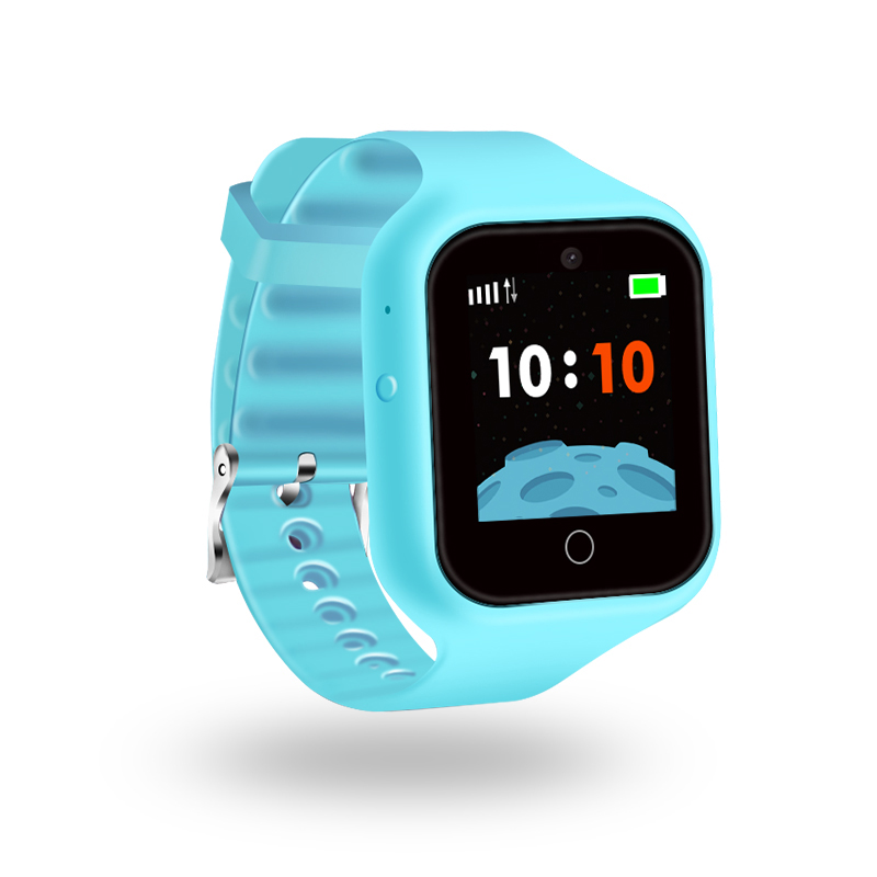 ZGPAX S66 New GPS Smart Watch for Kids Remote Voice Monitoring Real time Chat Global Tracking On line Camera Changeable Band SOS
