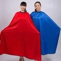 Hombres Mujeres Salon Peluquería Peluquería Del Corte Del Pelo del Vestido de Cabo de Tela Impermeable de Color Al Azar